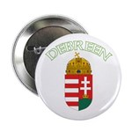 Debreen, Hungary Coat of Arms Button