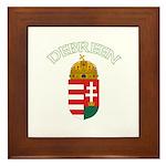 Debreen, Hungary Coat of Arms Framed Tile