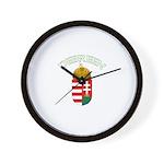 Debreen, Hungary Coat of Arms Wall Clock