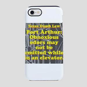 Texas Dumb Law 009 iPhone 7 Tough Case