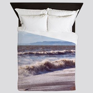 Crashing Waves Queen Duvet