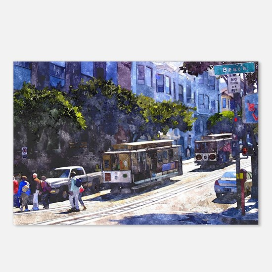 San Francisco 020 Postcards (Package of 8)