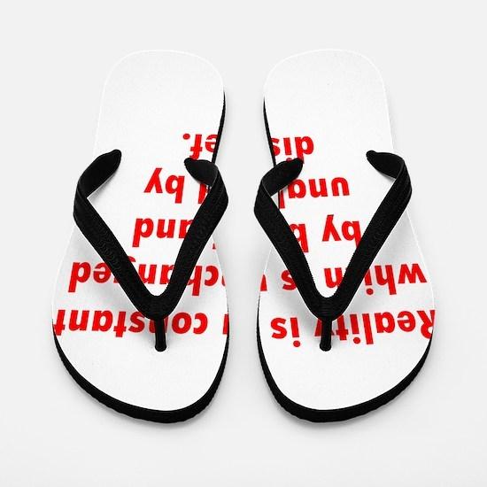 Reality Flip Flops