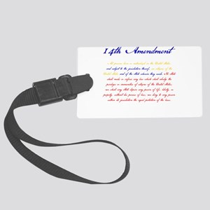 14th Amendment Luggage Tag