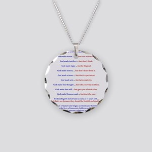 A Word On Gods Will Necklace