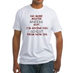 Mister Gneiss Guy Fitted T-Shirt