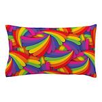 Rainbow Fan Pattern Pillow Case