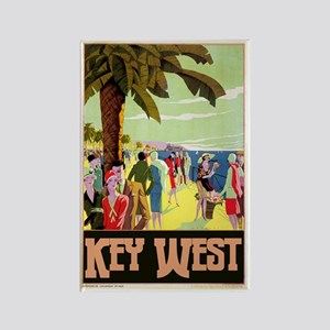 Key West Florida Rectangle Magnet