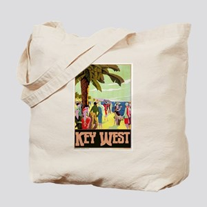 Key West Florida Tote Bag
