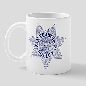 San Francisco Police Mug