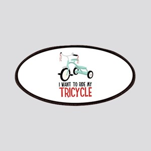 I Want To Ride My Tricycle Patches