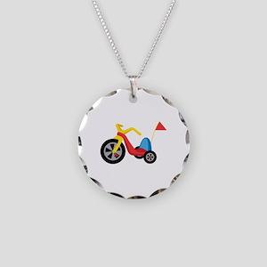 Big Wheel Necklace