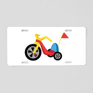 Big Wheel Aluminum License Plate