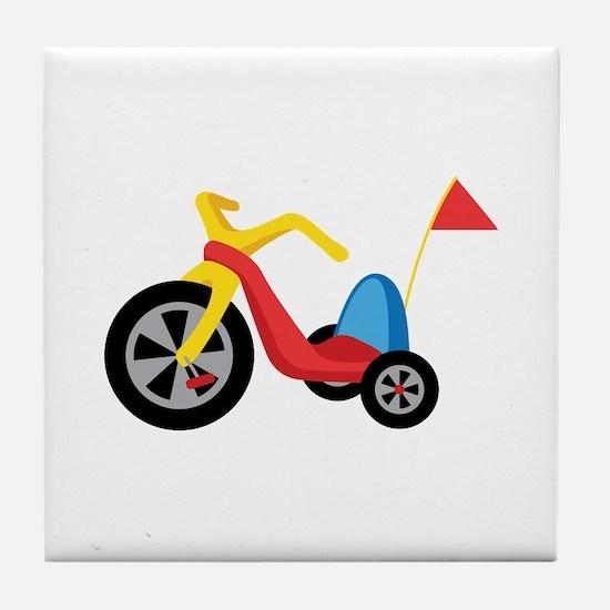 Big Wheel Tile Coaster