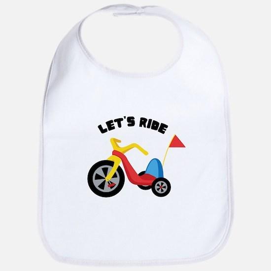 Lets Ride Bib