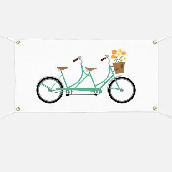 Tandem Bike Banner