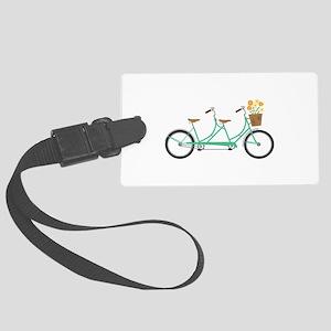 Tandem Bike Luggage Tag
