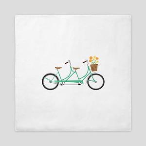 Tandem Bike Queen Duvet