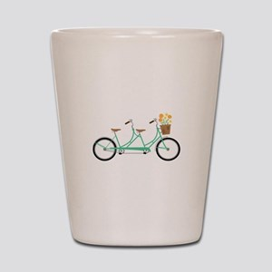 Tandem Bike Shot Glass