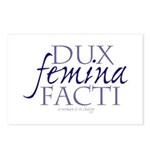 dux femina facti Postcards (Package of 8)