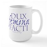 Dux Femina Facti Large Mug