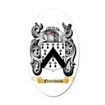 Frenchman Oval Car Magnet