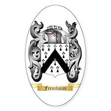 Frenchman Sticker (Oval)