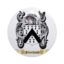 Frenchman Ornament (Round)