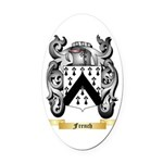 French Oval Car Magnet