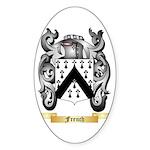 French Sticker (Oval 50 pk)