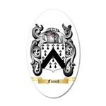 French 20x12 Oval Wall Decal