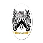 French 35x21 Oval Wall Decal