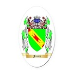 Freire Oval Car Magnet