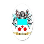 Freidburg Oval Car Magnet