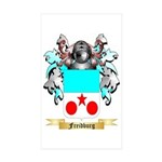 Freidburg Sticker (Rectangle 50 pk)
