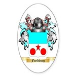 Freidburg Sticker (Oval)