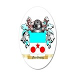 Freidburg 20x12 Oval Wall Decal