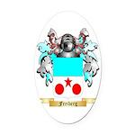 Freiberg Oval Car Magnet