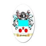 Freiberg 35x21 Oval Wall Decal