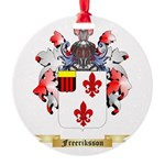 Freeriksson Round Ornament