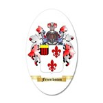 Freeriksson 35x21 Oval Wall Decal