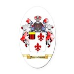 Freericksson Oval Car Magnet