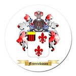Freericksson Round Car Magnet