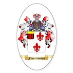 Freericksson Sticker (Oval)