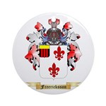 Freericksson Ornament (Round)