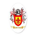 Freeney Oval Car Magnet