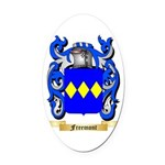 Freemont Oval Car Magnet