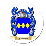 Freemont Round Car Magnet