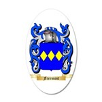Freemont 20x12 Oval Wall Decal