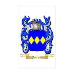Freeman Sticker (Rectangle 50 pk)